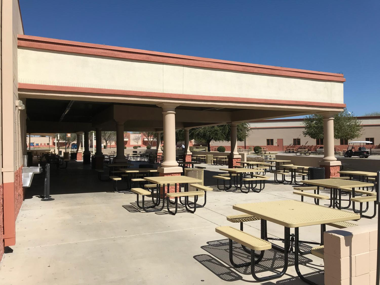 Although the cafeteria at school was empty most of this year, CCHS food services employees were busy making sure students were fed.