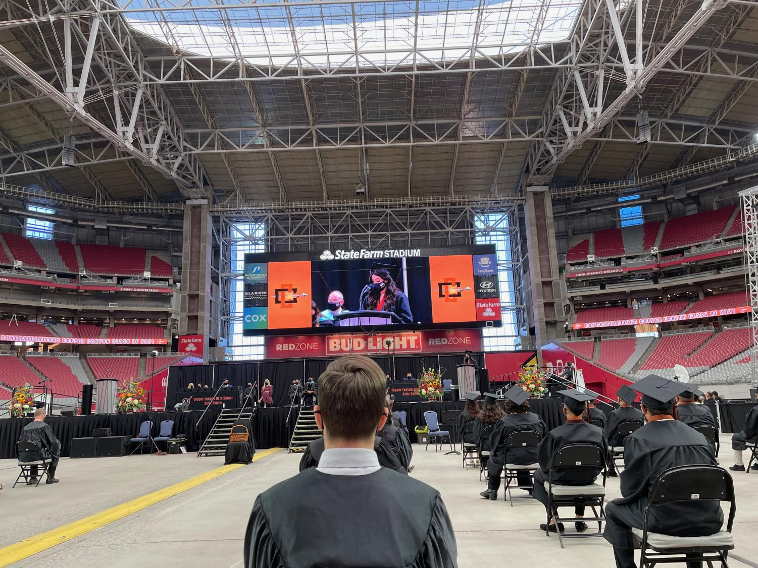 The CCHS class of 2021 graduated on May 24 at State Farm Stadium in Glendale.